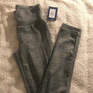 Plaid Printed Leggings